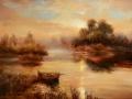 """""""Утро туманное на озере Затейливое """""""