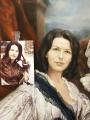 Парадный семейный портрет фрагмент 2