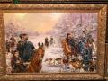 Русская охота зимой
