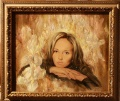Портрет в ирисах
