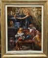 Маленький антиквар, копия с картины Маковского